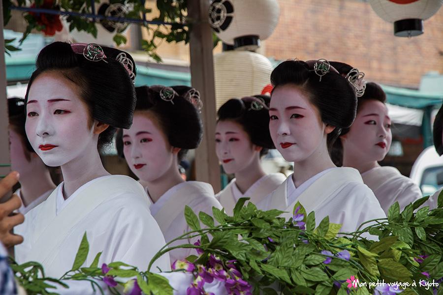 Hanagasa junkô (Gion matsuri)