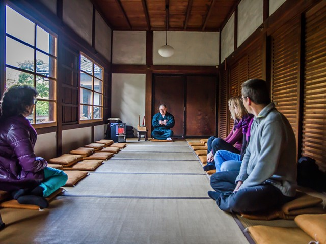 Zazen au temple Shunko-in
