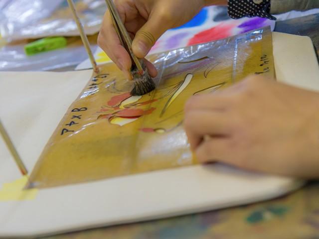 Atelier de Kyo-Yuzen Marumasu-Nishimuraya