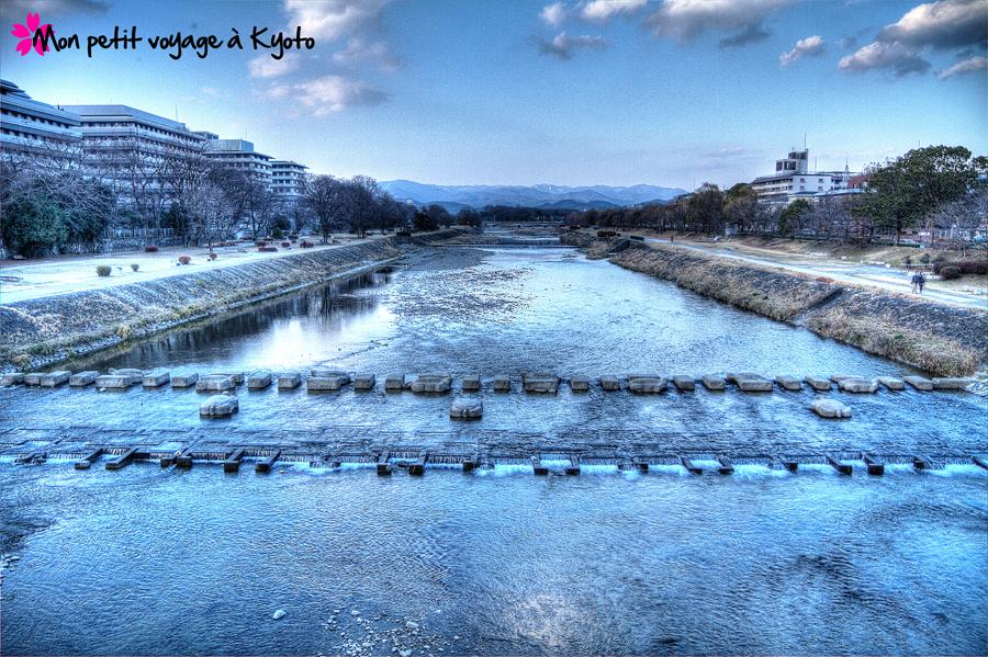 Kamogawa en hiver