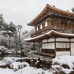 Ginkaku-ji sous la neige