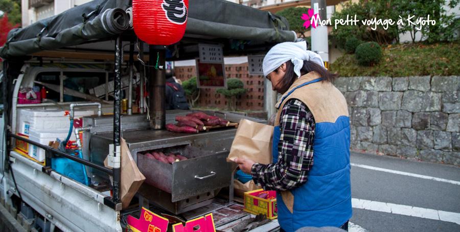 Vendeur ambulant de Yaki-imo