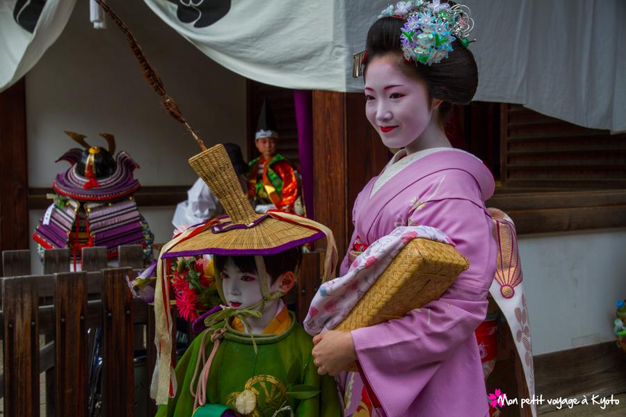Omukae chôchin (Gion matsuri)